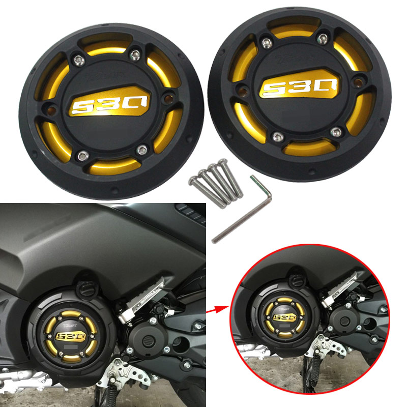 Motorcycle For Yamaha tmax 530 12-15 TMAX 500 08-11 CNC Engine Protective Cover