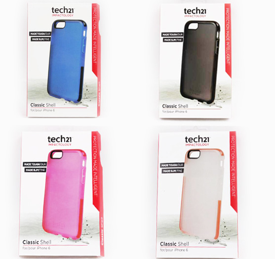 new product b8184 aa6e9 Details about Tech 21 Impactology Classic Shell for iPhone 6/6S / iPhone 6  Plus/6s Plus