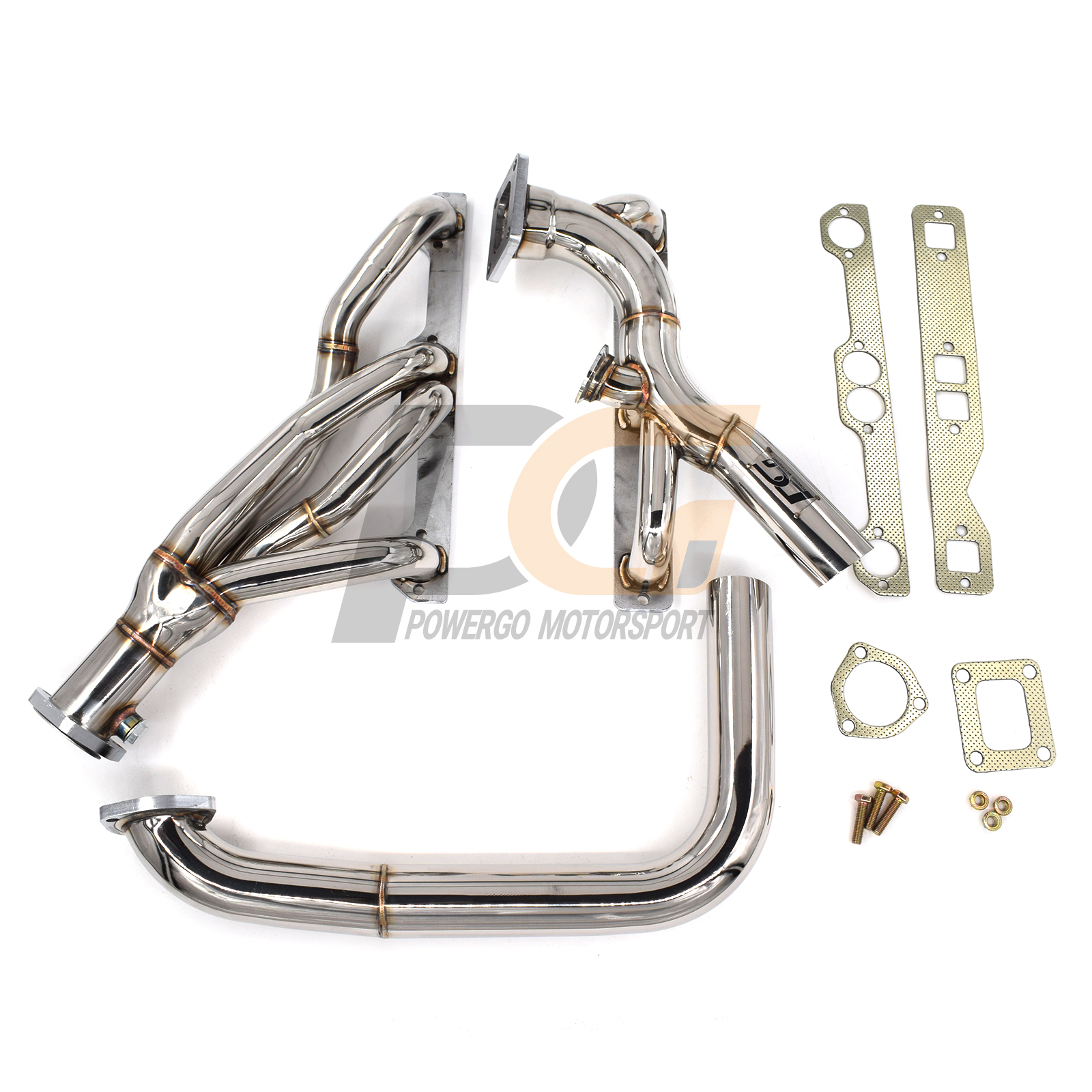 Long Tube Headers for Chevy GMC C10 C20 C30 Pickup 1963-1987 2WD Small Block V8
