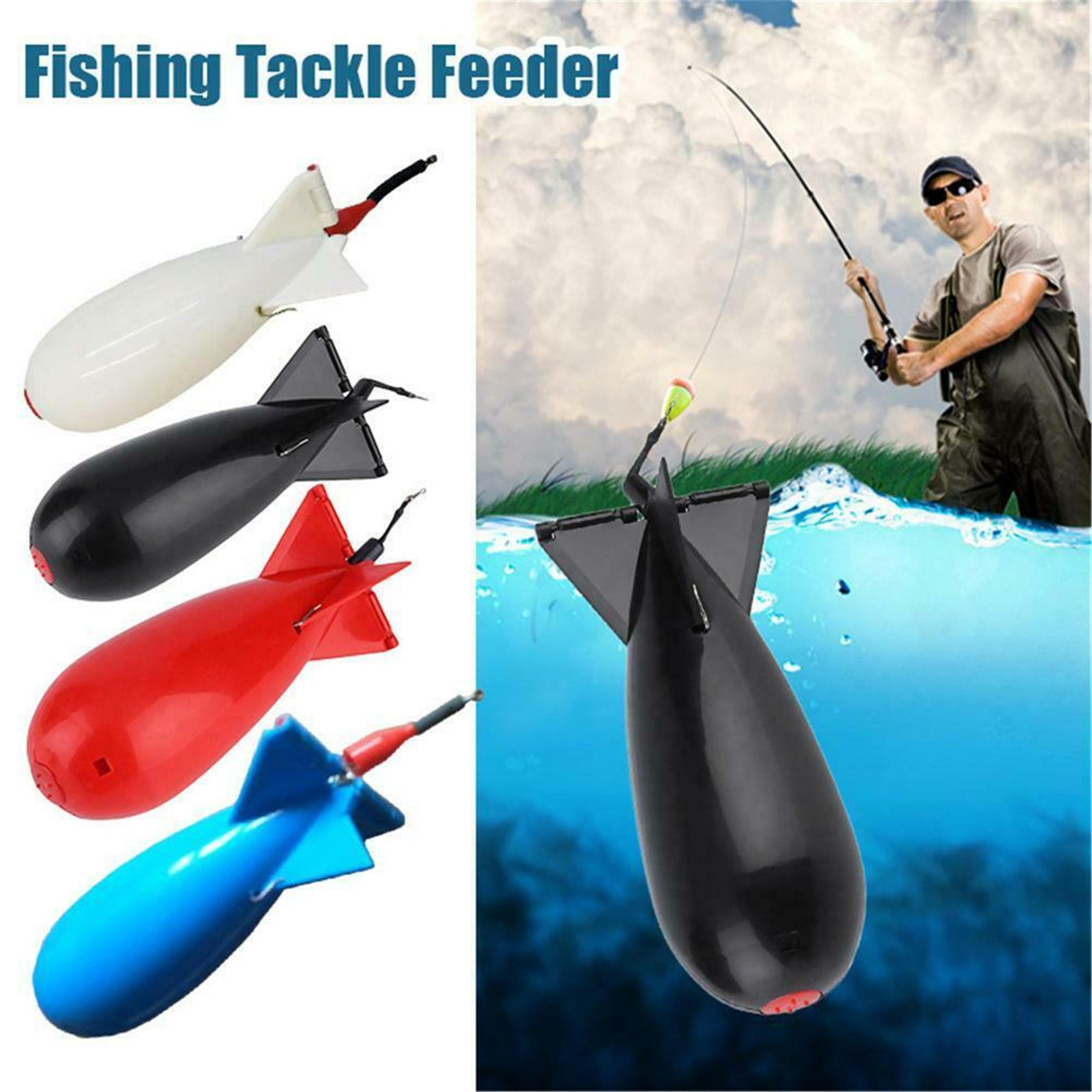 Spomb Spod Bomb Large WhiteBlack Bait Rocket Carp Fishing