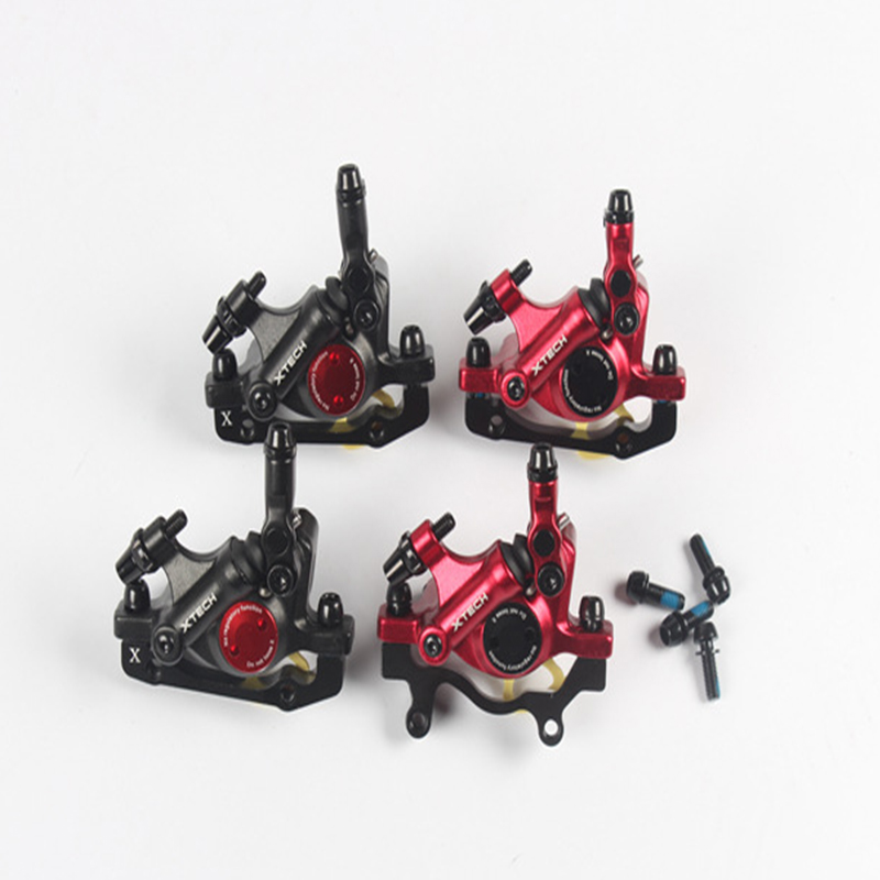 XTECH MTB Road XC Bike Hydraulic Disc Brakes Calipers Front Rear Mechanical pull