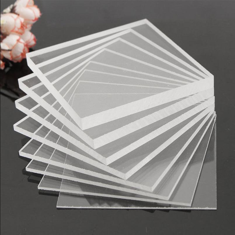 Acrylic Plexiglass Sheet  A3//A4//A5 Size 2//3//4//5//6//8 mm Thick Clear