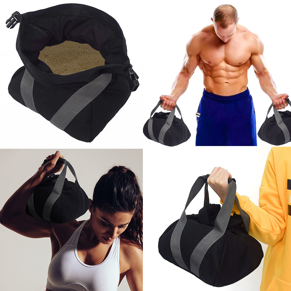 Weightlifting Training Sandbag Fitness High Intensity Exercise Power Bag-SY