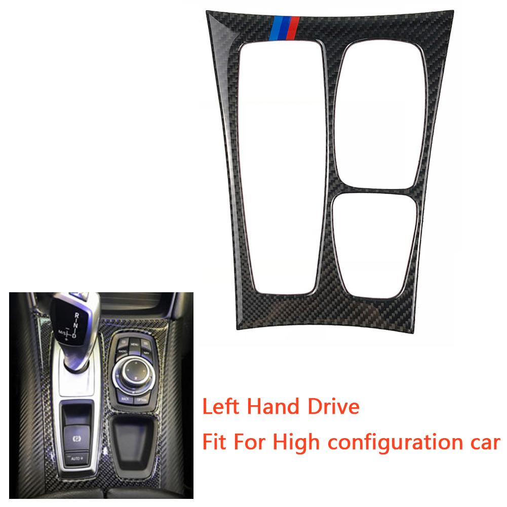 Fit For BMW X5 E70 X6 E71 2008-2013 Carbon Fiber Air Condition Panel Cover Trim