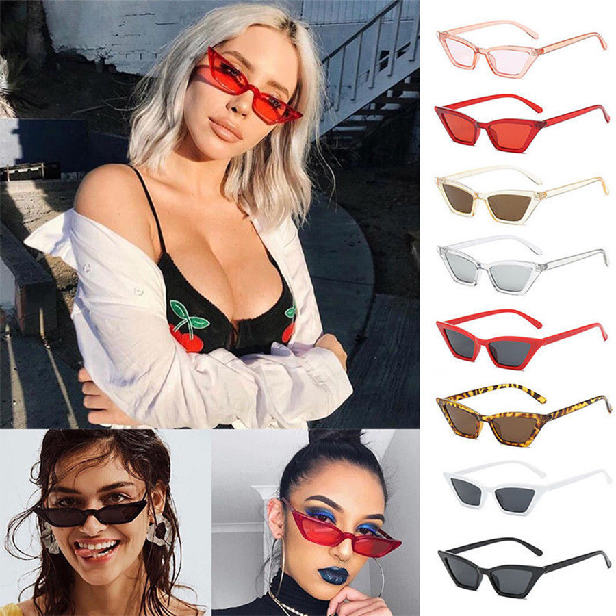 Women/'s Retro Outdoor Vintage Sunglasses for Lady Fashion Small Square Frame