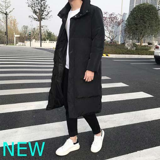 Coat Winter Outwear Men/'s Jacket Overcoat Padded Parka Hooded Thicken Faux Fur
