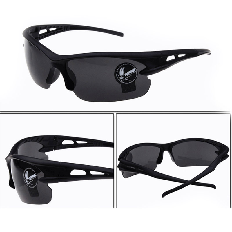 Details about Men Cycling Sports Sunglasses Outdoor Driving Eyeglasses Bike Riding UV400 US