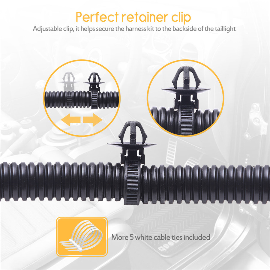 Jeep Wire Harness Retainer Tie Automotive Wiring Diagrams Plastic Clips 65 Trailer Tow Hitch Kit 4 Way For 07 17 Retaining