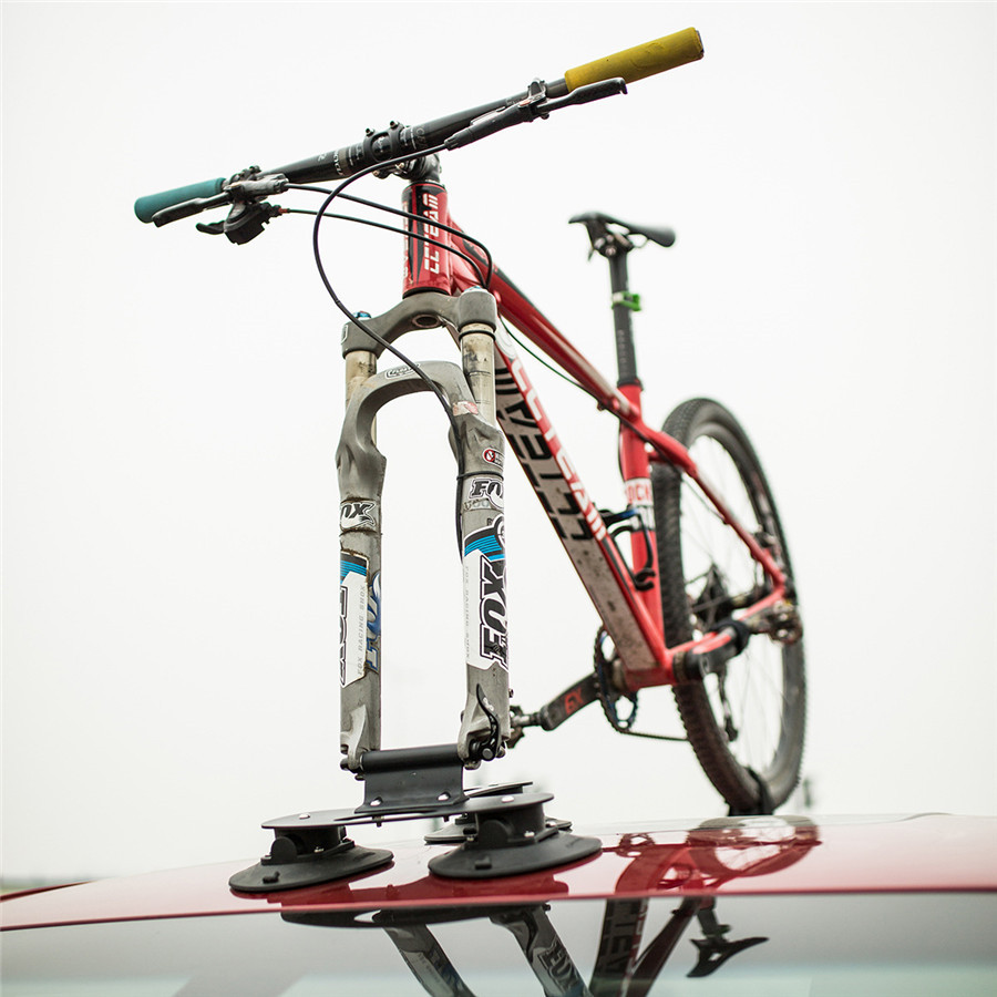 2018 Bicycle Carrier Frame Rack Roof-Top Suction Quick Installation Sucker