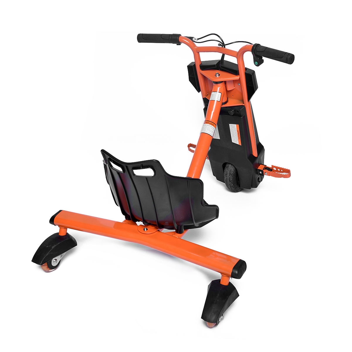 New Power Electric Adult Kids Tricycle Scooter Three