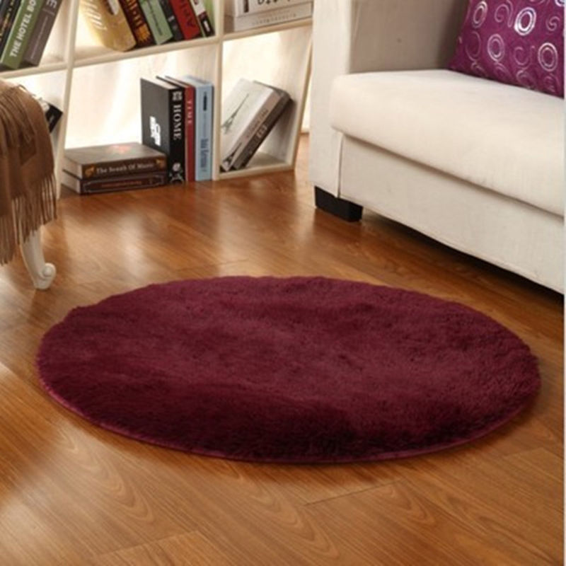 round living room rugs area rug circle soft shaggy living room carpet 12757