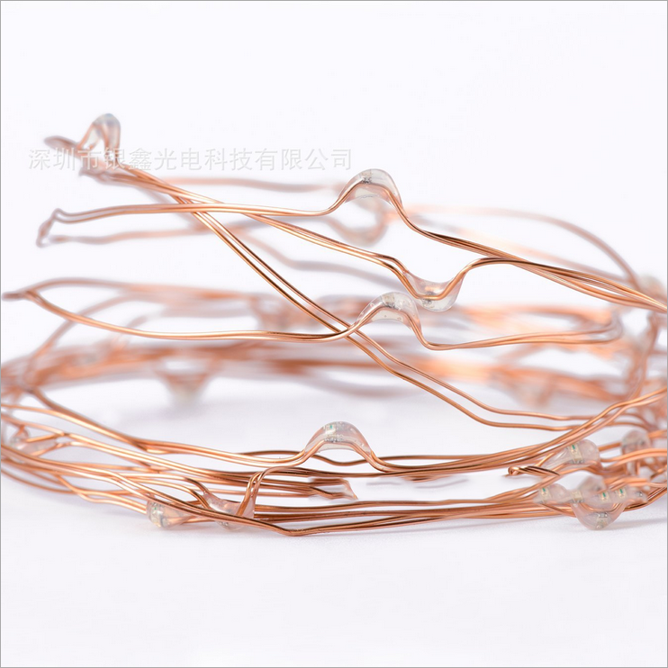 20/30/40/50/100 LED String Copper Wire Fairy Lights Battery Powered Waterproof eBay
