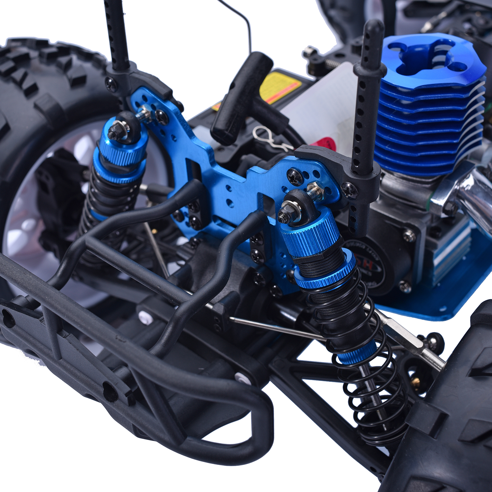 Hsp Rc Truck Nitro Gas Power Off Road Monster Truck 94188: HSP 1/8 Scale RTR 2.4GHz Nitro 2 Speed 4x4 RC Car Off Road