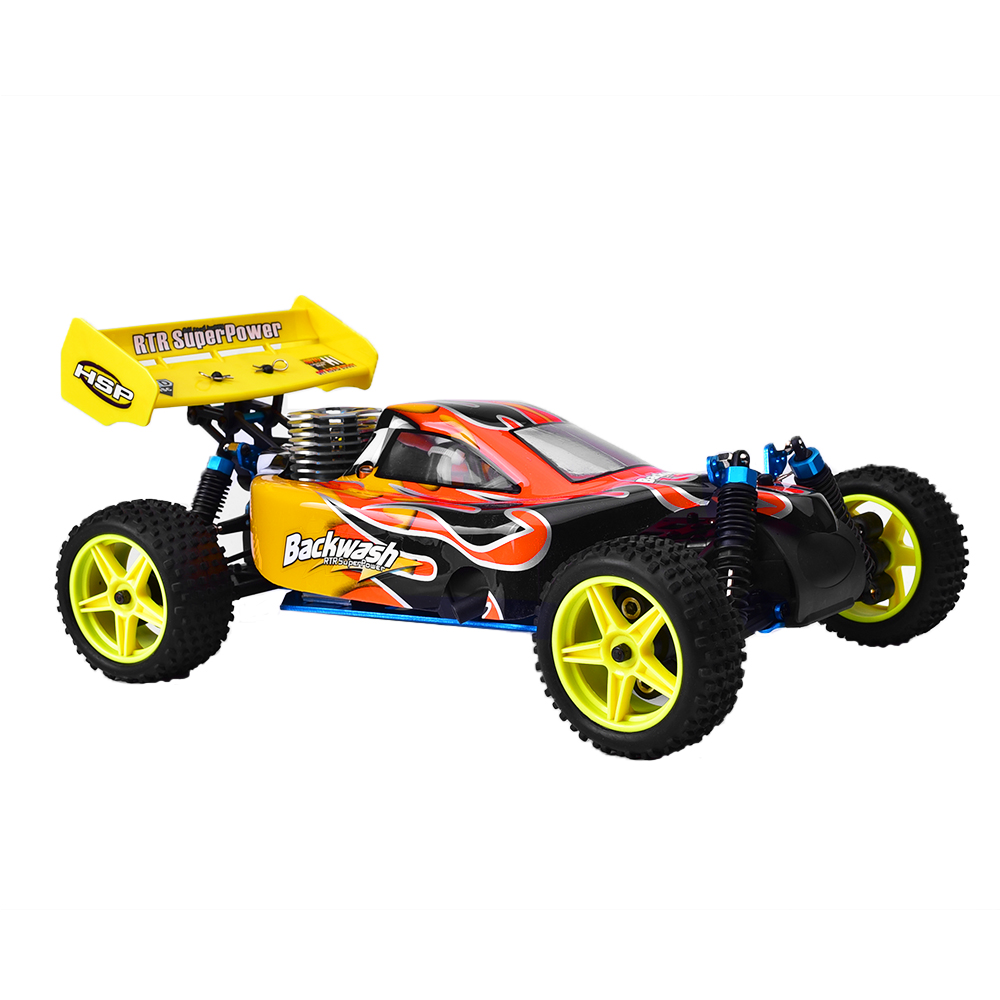 Hsp Rc Car 1 10 Scale Nitro Gas Power 4wd Off Road Truck: HSP 94166 1/10 Scale 4wd Rc Car Two Speed Off Road Buggy