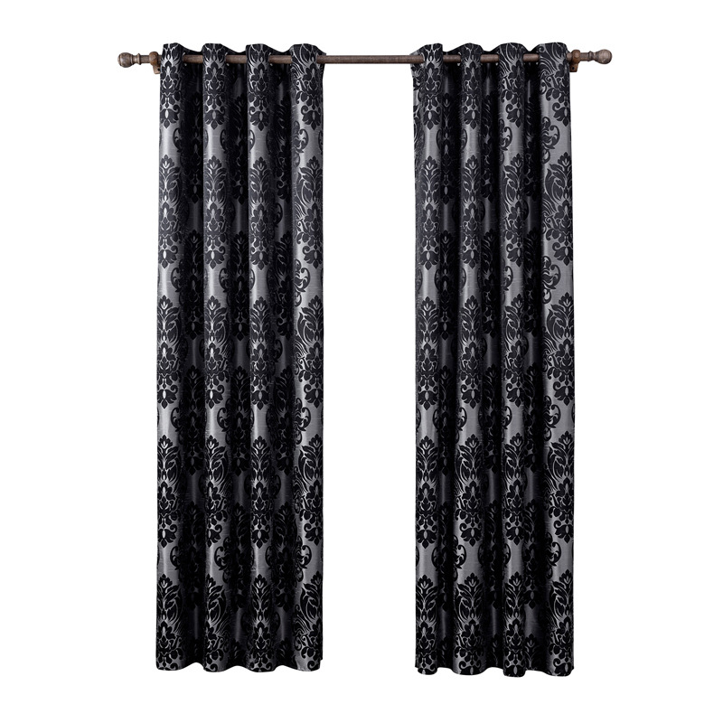 Heavy Thick Window Curtain Panel Blackout Thermal Lined Solid Treatment Drapes