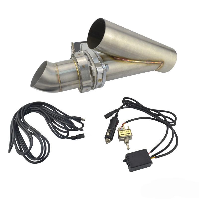 2 25 u0026quot  manual electric exhaust cutout downpipe kit e