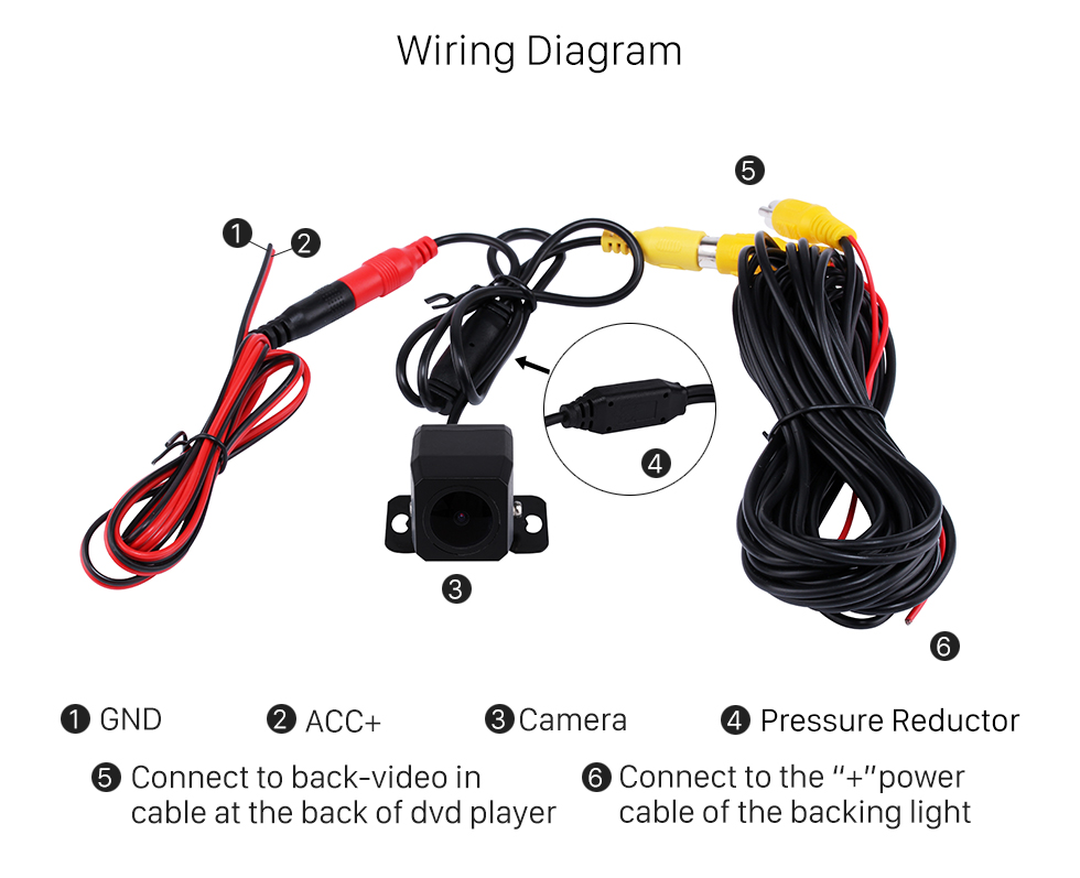 Hd 1000tvl car rear view backup reverse packing camera night product specifics cheapraybanclubmaster Gallery