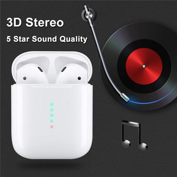 Details about New i10 TWS Bluetooth 5 0 Earphones Earbuds Mini Headset  Touch Control 3D i10MAX
