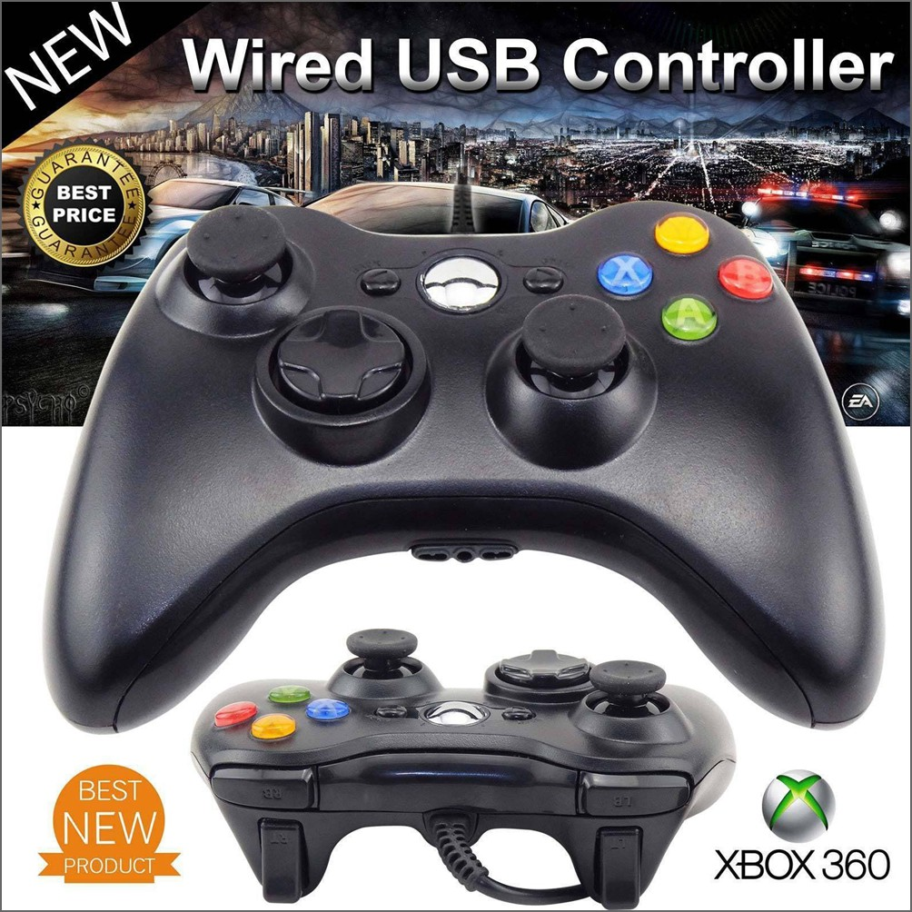 Outstanding Does Xbox 360 Wired Controller Work On Pc Crest - The ...