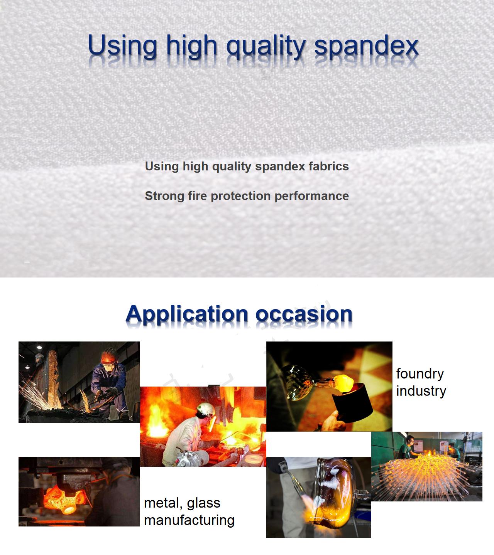Thermal Radiation 1000 Degree Heat Resistant Aramid Fiber Gloves New gu