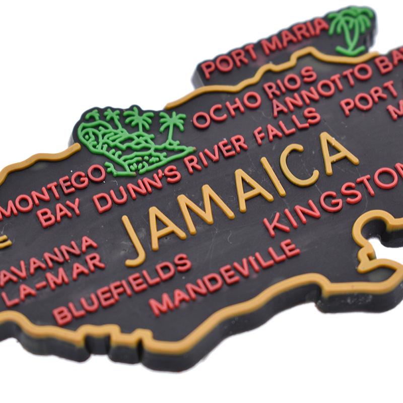 Landkarte Kühlschrankmagnet Jamaika Kühlschrank Aufkleber Neu ...