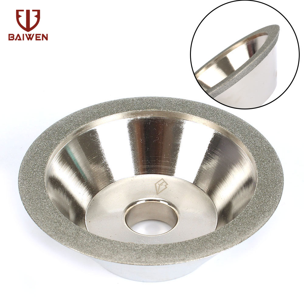 100mm Cup Diamond Grinding Wheel Grit 100# 150# 200# 240# Tool Cutter Grinder