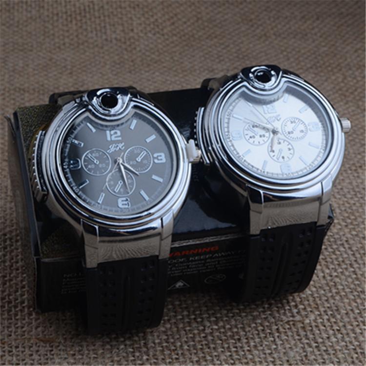 Details about Mens Watches Butane Big Cigarette Cigar Lighter Refillable  Black Wrist Watch #UK