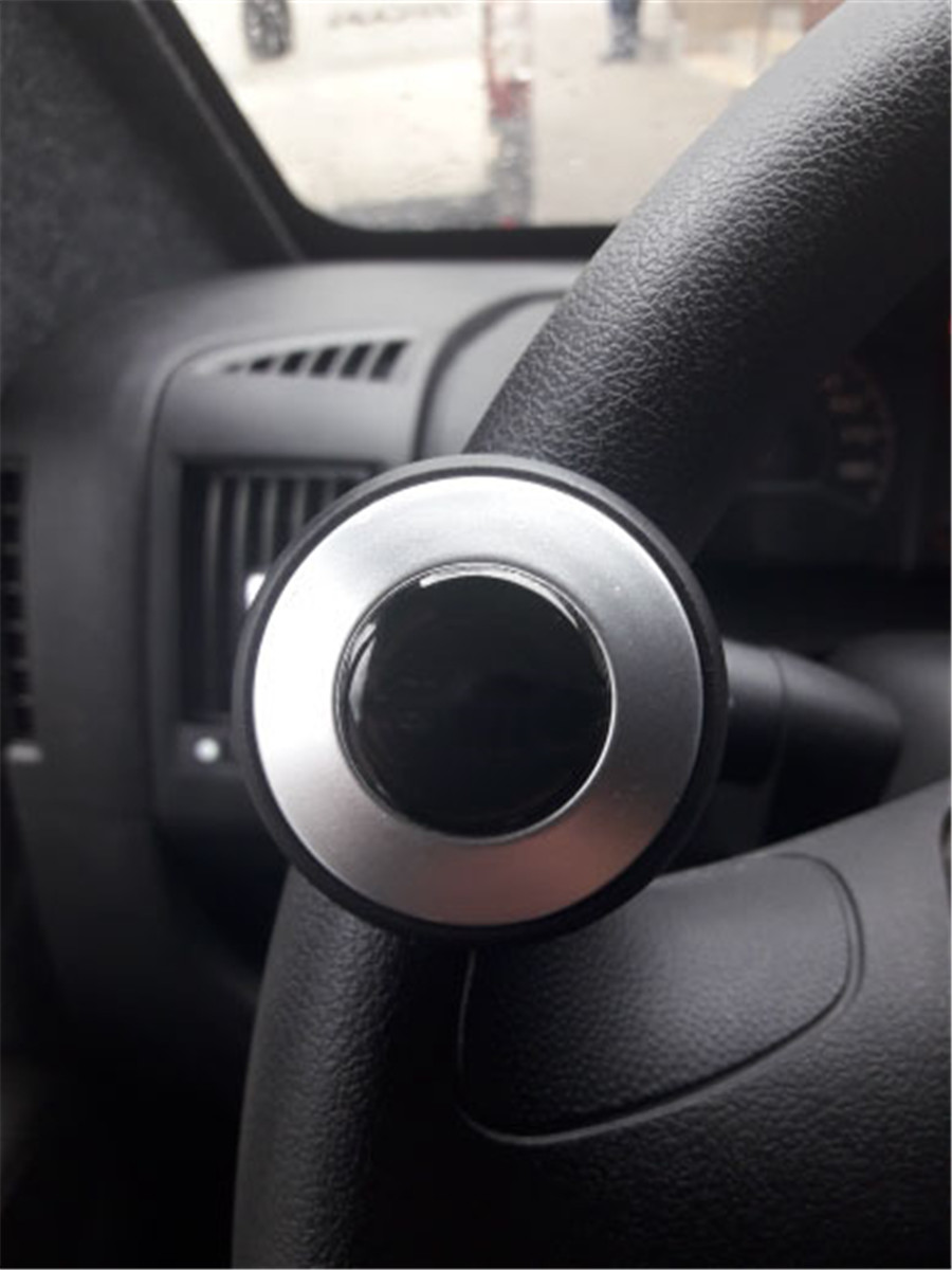 Hot Sale Car Auto Black Control Handle Steering Wheel Handle Assist Spinner Knob Booster Automobiles & Motorcycles Controllers