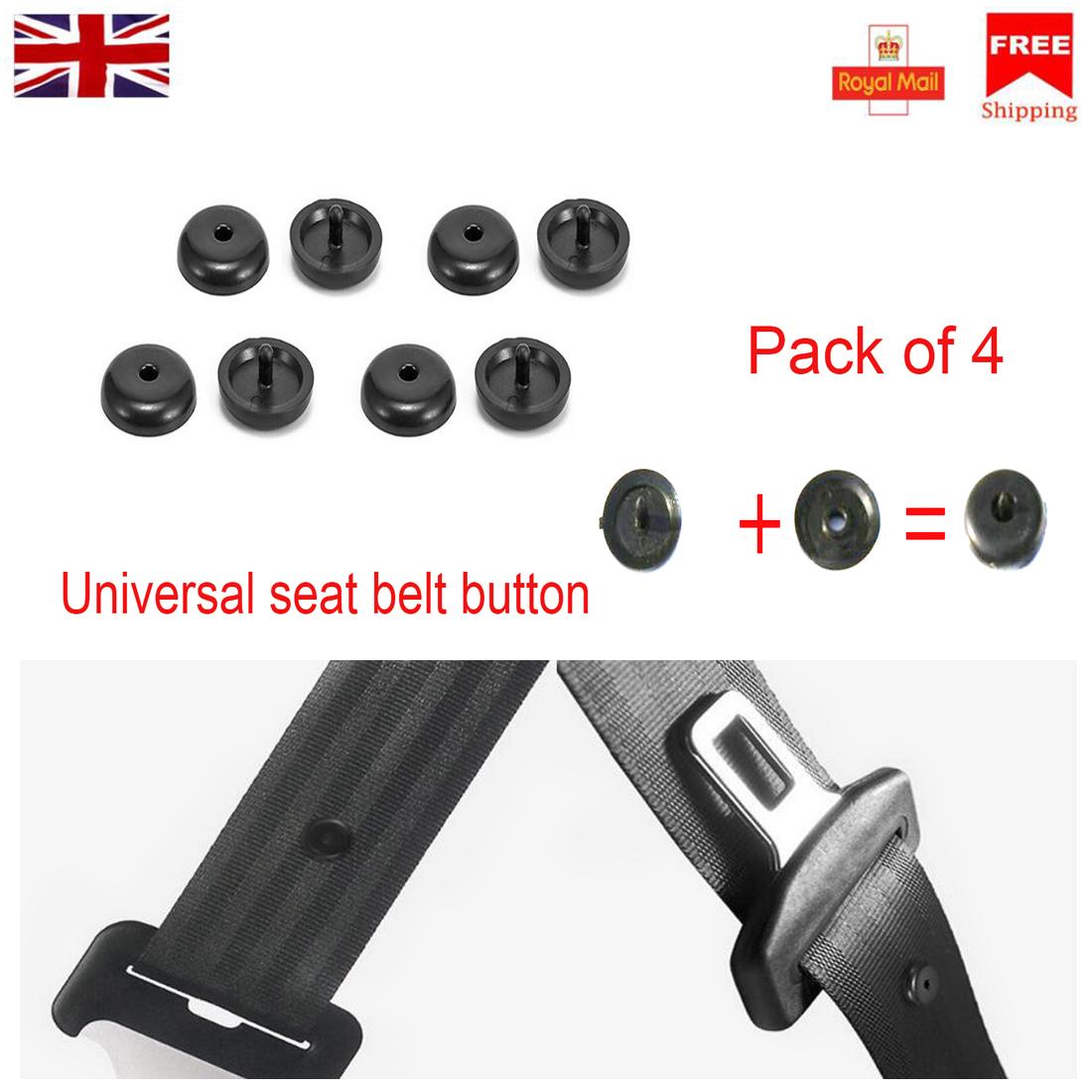 1x Seat Belt Stopper Clip For RENAULT SAAB SEAT SKODA KIA Buckle holder Stud Pin