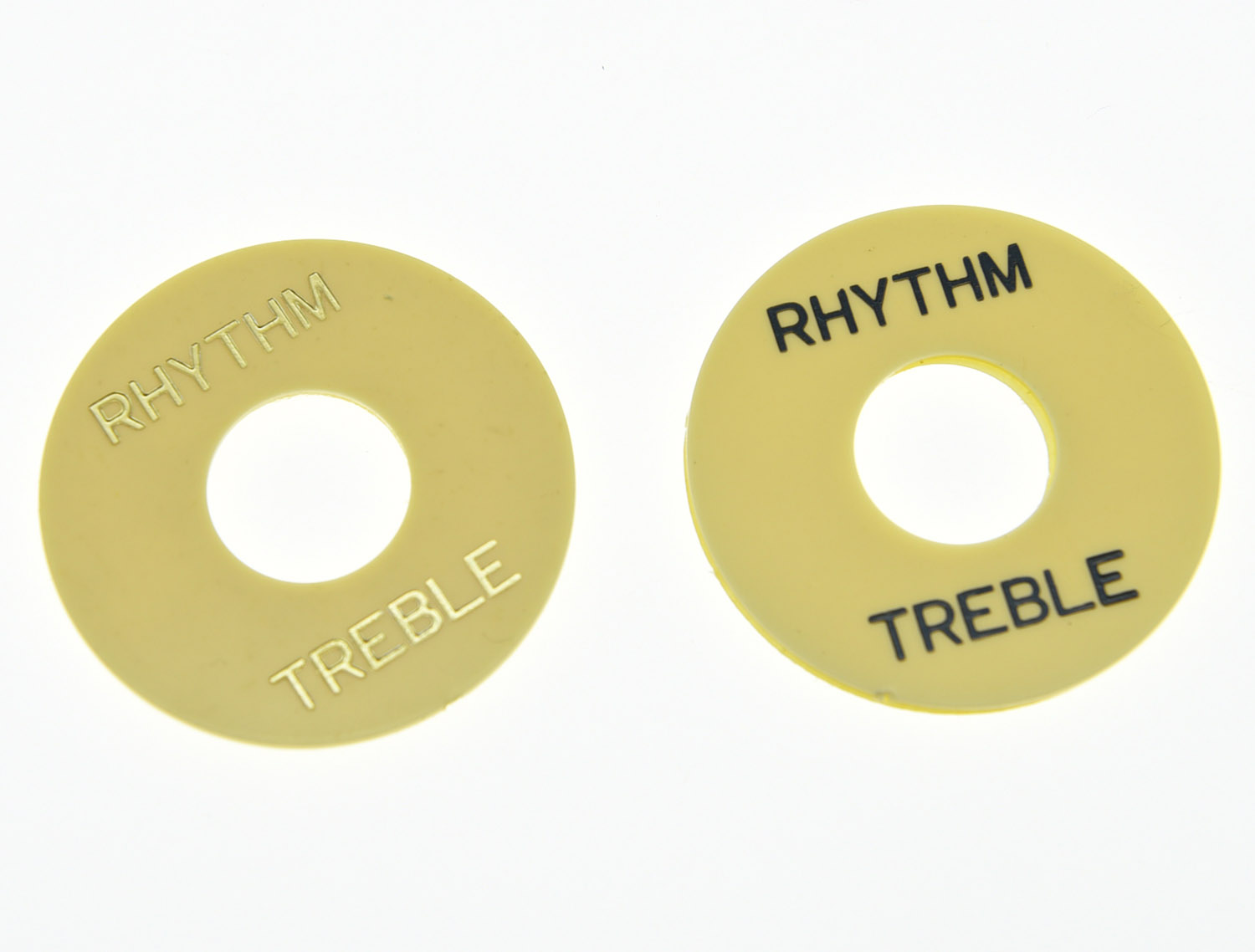 GOLD NEW Rhythm//Treble Ring Plate For Les Paul Toggle Switch