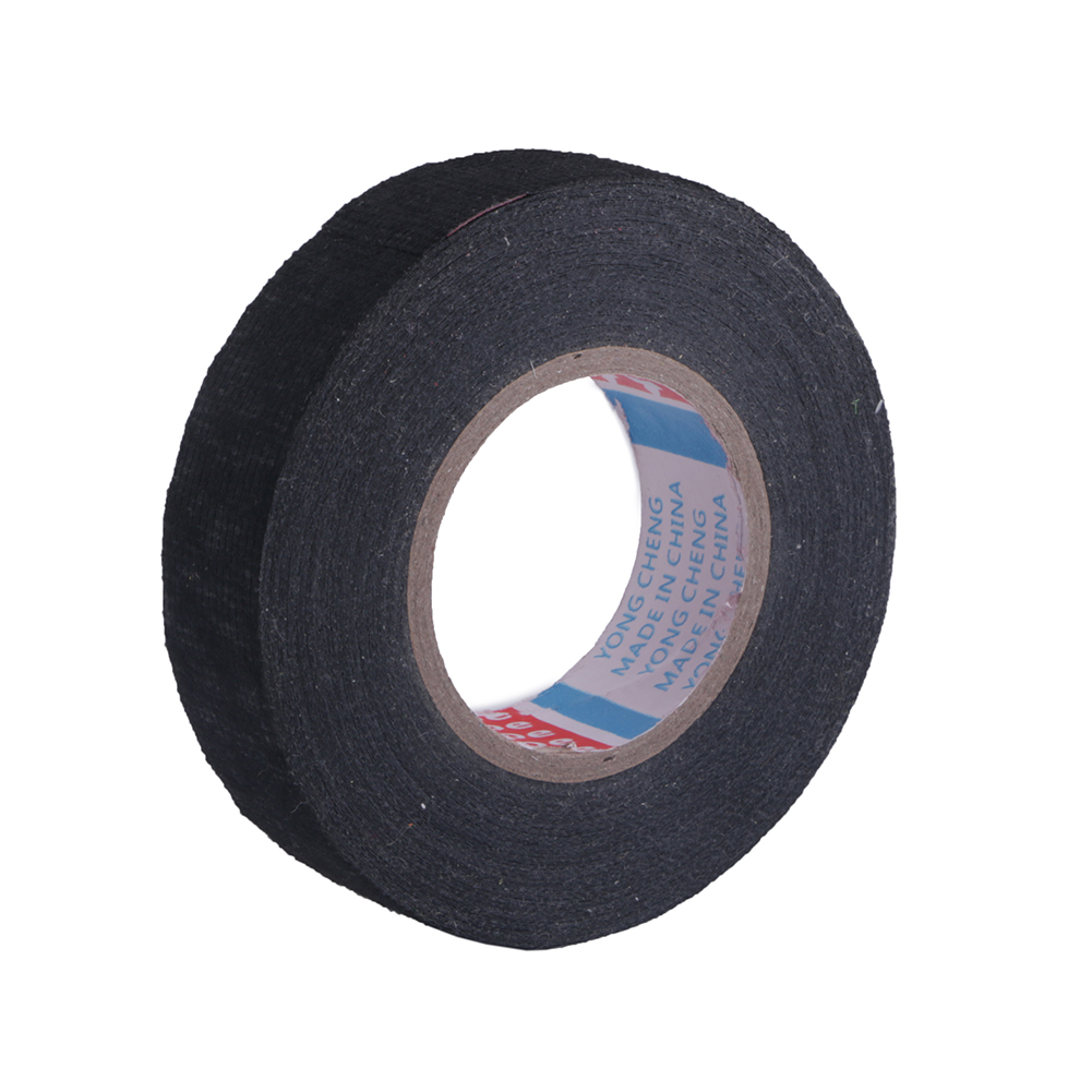 15m High Temperature Wire Fabric Tape Protection Isolation Electronic Adhesive