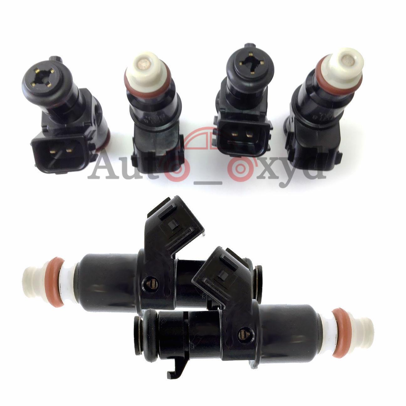 Set Of 6 Fuel Injectors Nozzle 16450-RZP-003 For Honda