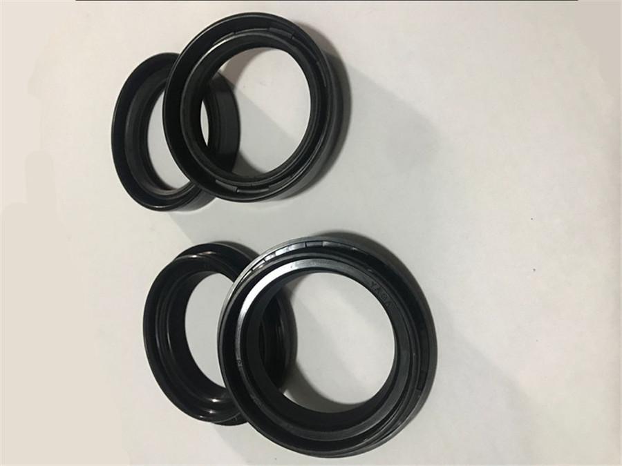 Durable Motorcycle Front Fork Damper Shock Absorber Oil Seal /& Dust Seal Set
