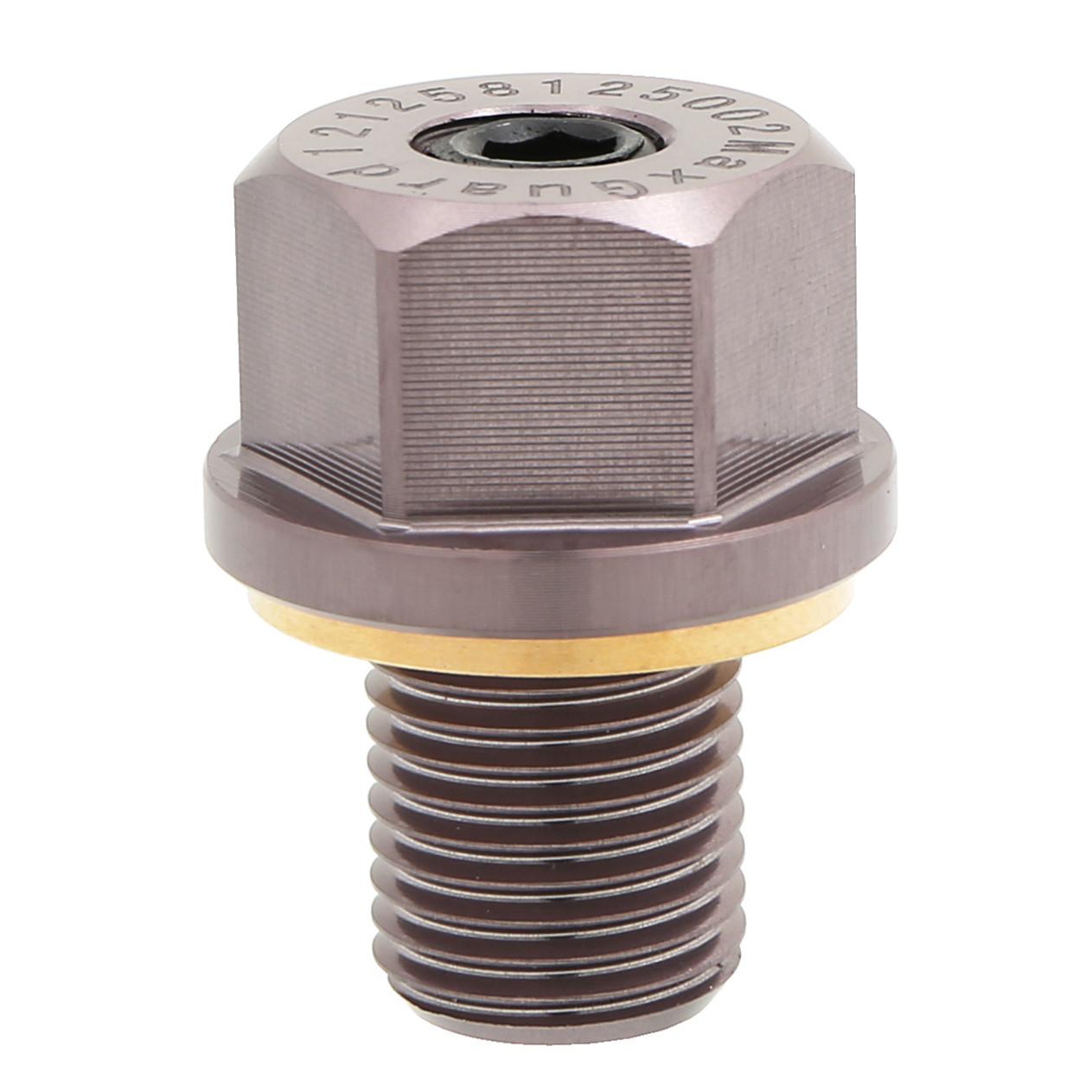 Navara Micra Maxima M12x1.25 BLUE Murano Magnetic Oil Sump Drain Plug