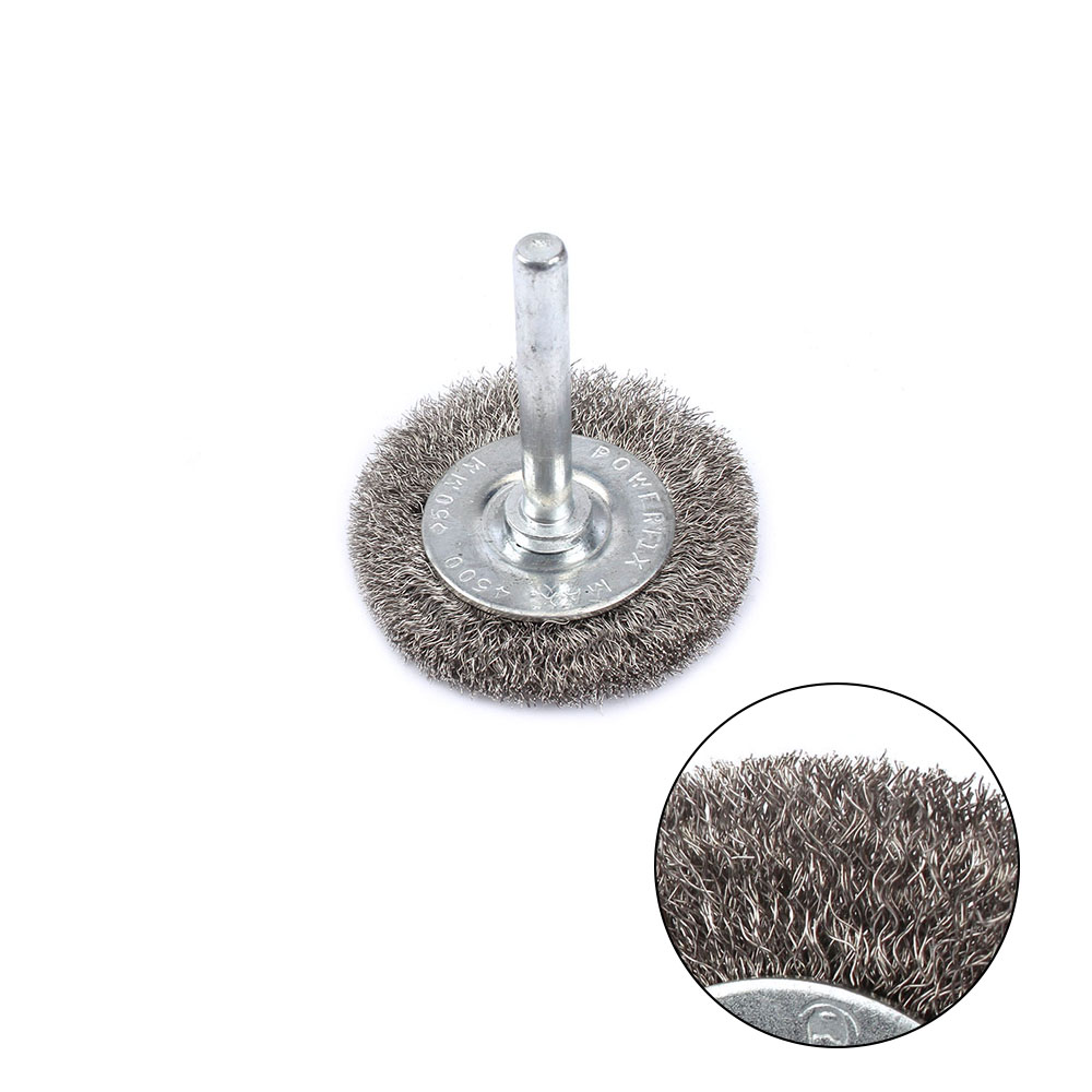 DISSTON COMPANY 307025 6 Coarse Crimped Wire Wheel Maximum RPM 3,750 1//2 To 3//8 Arbor Hole Heat Treated Wire.012 Gauge Wire 1//2 To 3//8 Arbor Hole