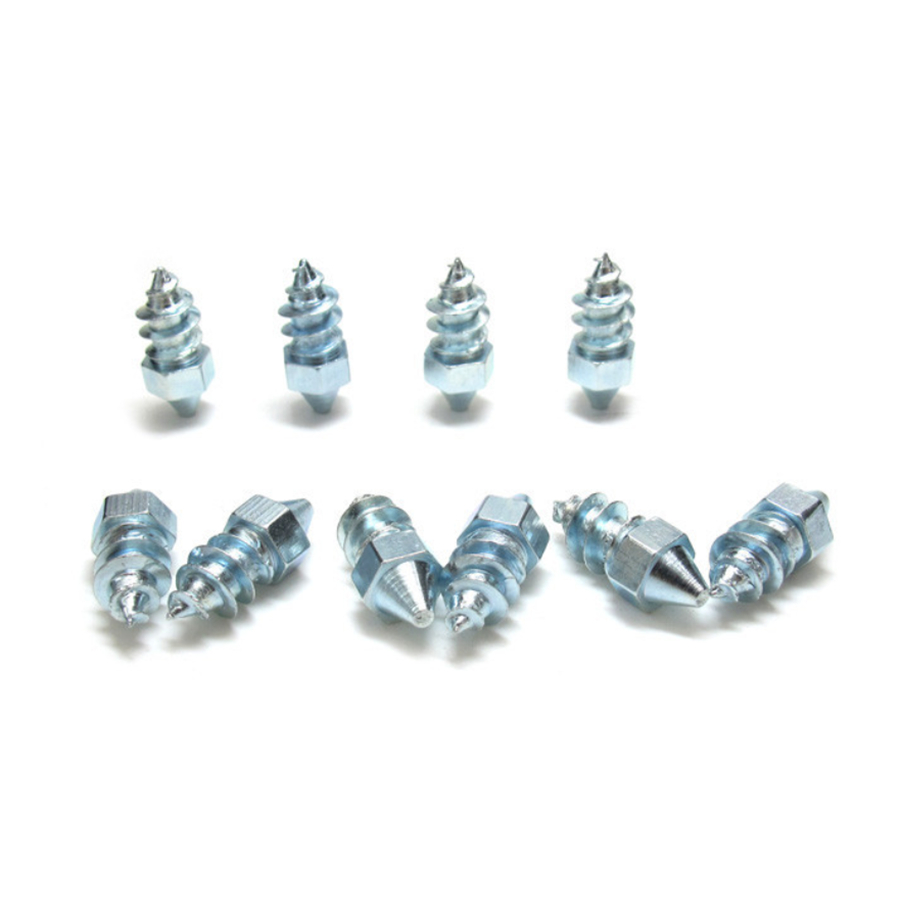 50x Car Tire Spikes Anti-slip Studs Screw Carbon Steel Snow Ice Road for Winter