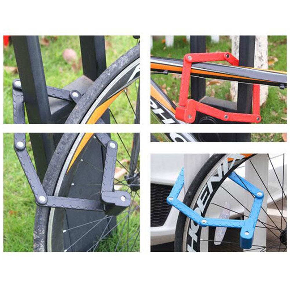 Motorrad Fahrradschloss Faltschloss Gelenkarm Fahrradschloss Mit Schlüssel