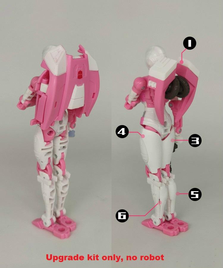 New Arrival 3D DIY Upgrade Kit Set Guns for Earthrise Arcee