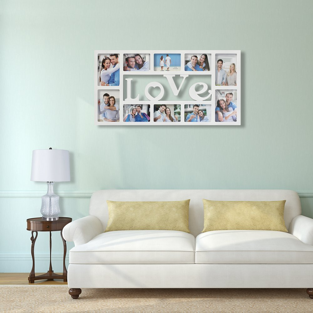 Collage Family Picture Frames White