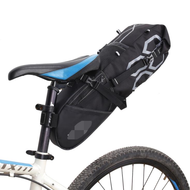 12L Große Kapazität Wasserfest Fahrradtasche Radfahren Satteltasche Tasche WTT