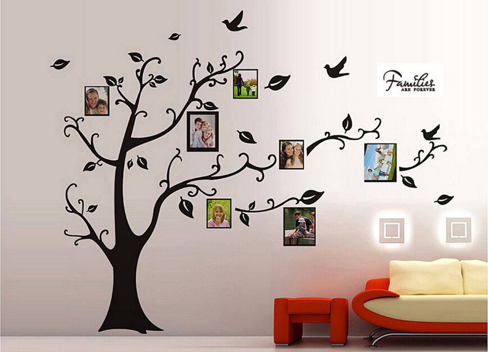 Fantastic Big Family Tree Picture Frame Ideas - Framed Art Ideas ...