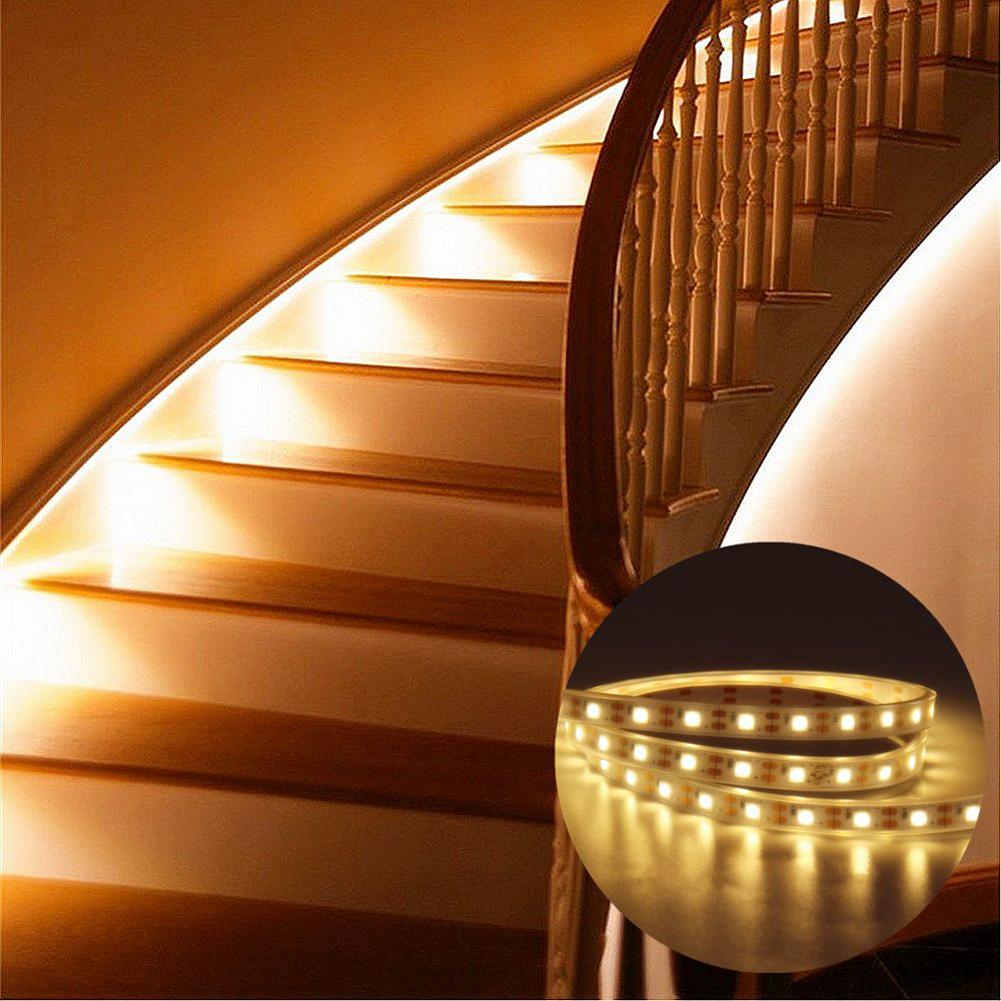 PIR Bewegungsmelder Streifen Lichterkette Lichtband Kabinett Kleiderschrank DE