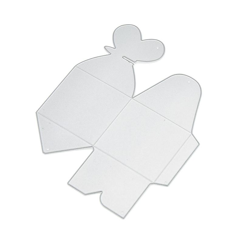 Die Prägeschablone Schmetterling Herz Stanzschablone Box Cutting DIY Basteln