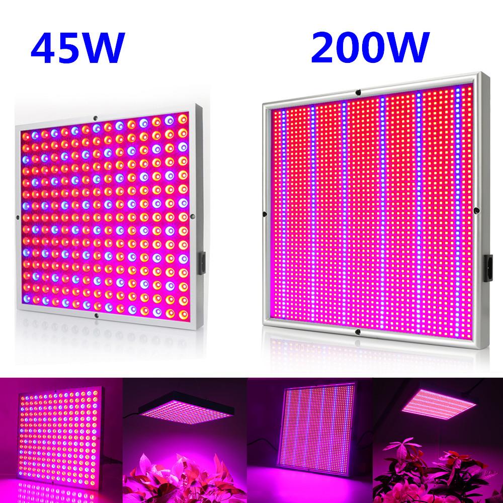 45W 120W 200W LED Pflanzenlicht Grow Light Lamp Pflanzenlampe Pflanzenleuchte DE