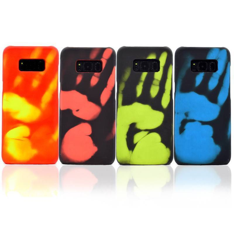 Phone Change Color S8 Plus Cover Thermal Discoloration Case | eBay
