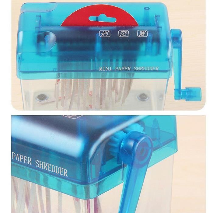 Handheld Paper Shredder For Art And Craft