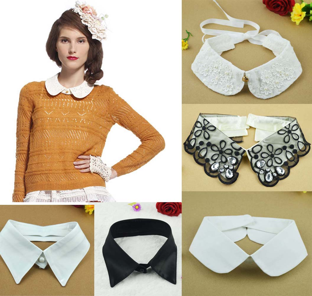 With what to wear false collars 43