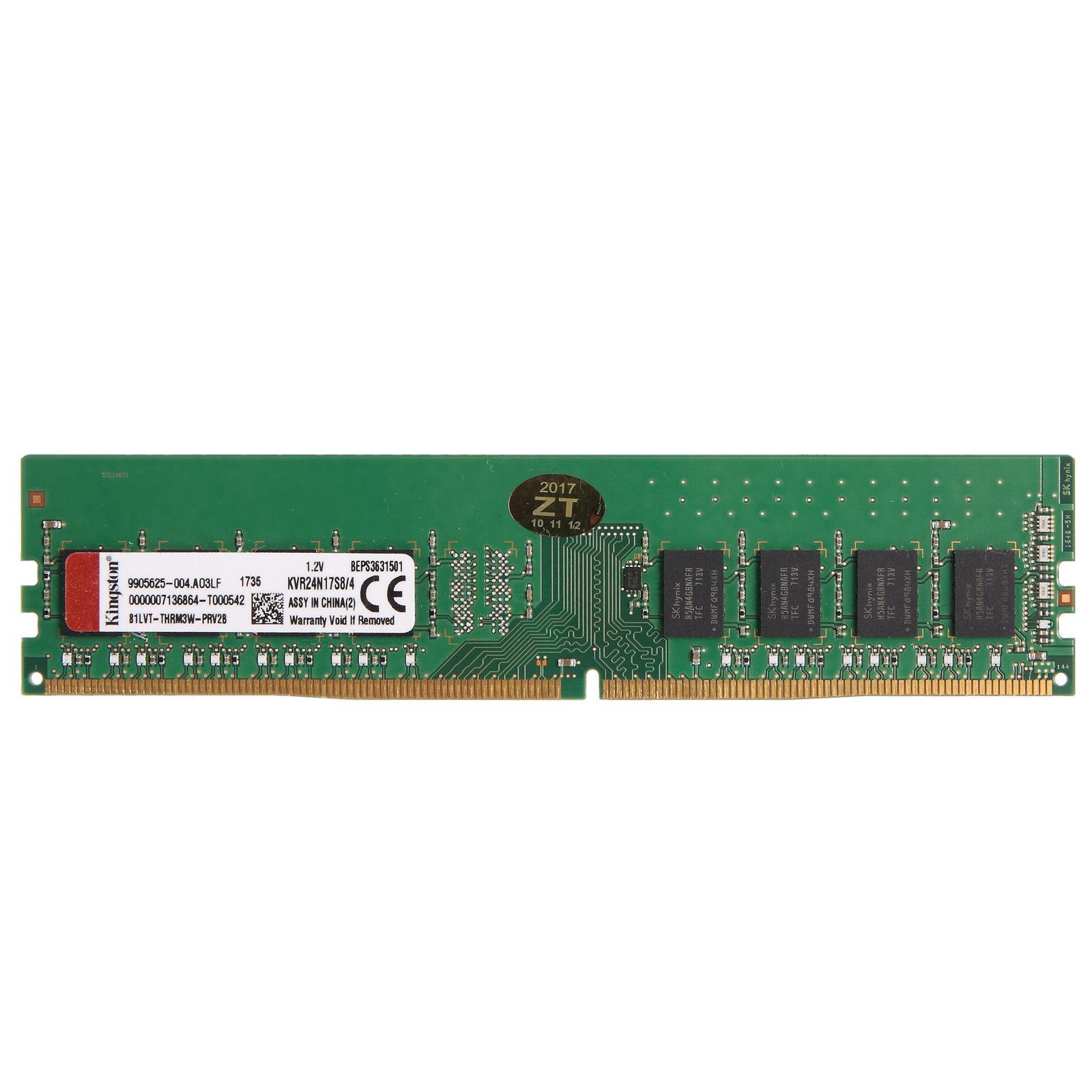 8GB 16GB 32GB DIMM Memory DDR4 PC4-19200 RAM 288PIN 2400MHz SKHynix Desktop