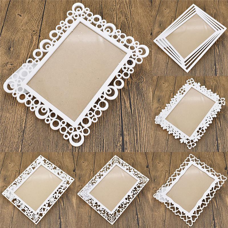 Foto Rahmen Bilderrahmen Tischdeko Hochwertig Weiß Geschenk ...