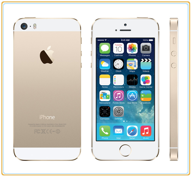 gold iphone 5 original apple iphone 5s factory unlocked 4g 16gb gold 10708